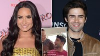 demi lovato makes surprise apperance in boyfriend max ehrichs instagram live