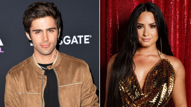 Demi Lovato Max Ehrich Instagram Comment Angels