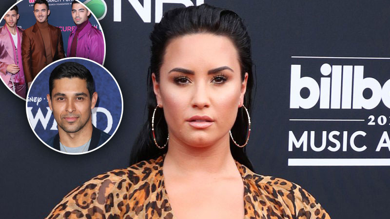 Demi Lovato Shades Jonas Brothers Wilmer