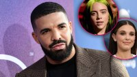 Drake Seemingly Addresses Millie Bobby Brown And Billie Eilish Drama In His New Songs