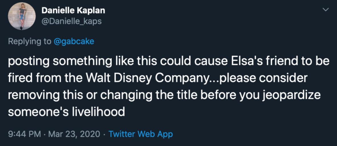 Fans Clap Back At Gabi DeMartino After She Seemingly Throws Shade At Disney World