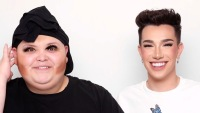 James Charles Does Adam Ray Okay AKA Rosa's Makeup After Being Slammed For 'Racist' Imitation