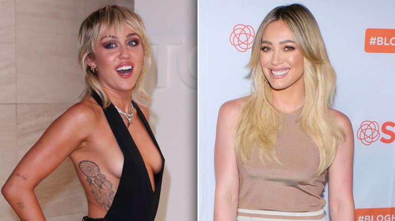 Miley Cyrus And Hilary Duff Fan Girl Over Each Other During 'Bright Minded' Instagram Series