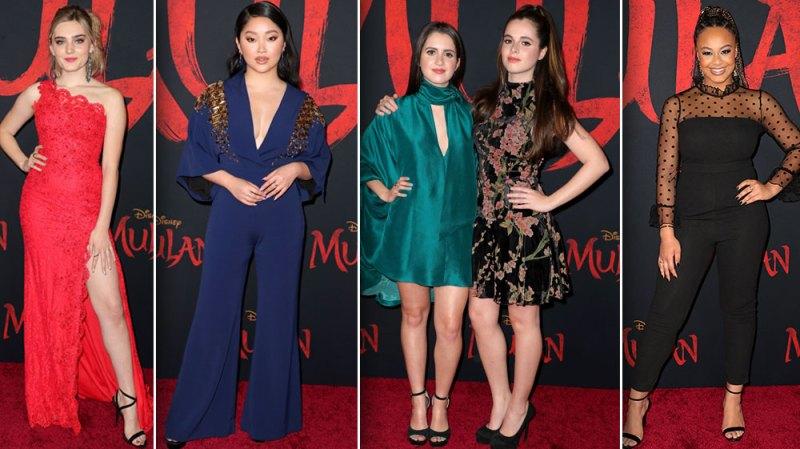 See Your Favorite Stars Slay Disney's 'Mulan' Premiere