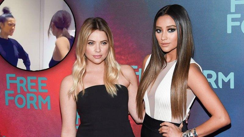 'Pretty Little Liars' Stars Shay Mitchell Aand Ashley Benson Reunite For Epic TikTok Dance