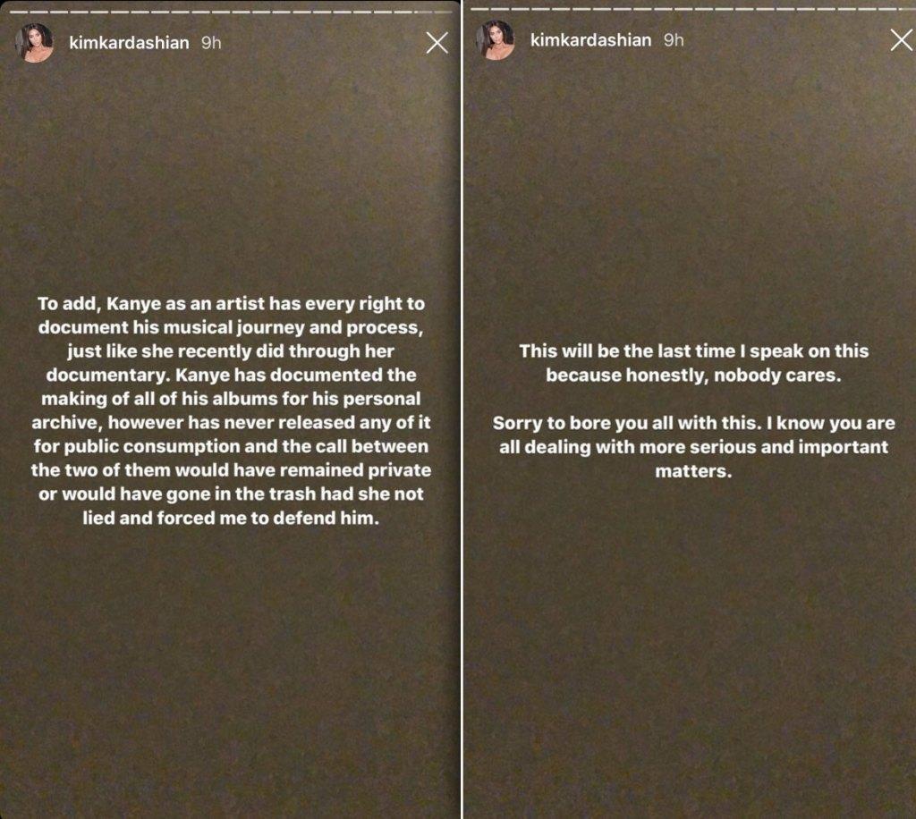 Kim Kardashian Taylor Swift Respond Kanye West Famous Phone Call
