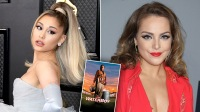 Ariana Grande Teams Up With 'Victorious' Costar Liz Gillies To Recreate Iconic Scene From Throwback '90s Film