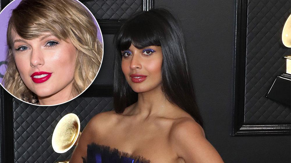 Jameela Jamil Defends Taylor Swift Against Social Media Hater