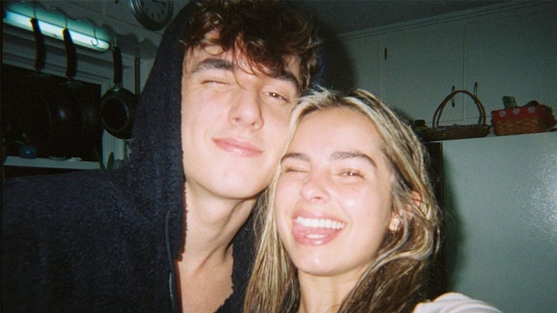 TikTok Star Bryce Hall Reignites Rumors That He's Getting Back Together With Ex-Girlfriend Addison Rae