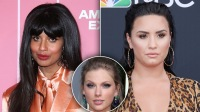 Jameela Jamil Responds After Taylor Swift Fans Slam Her For Interviewing Demi Lovato