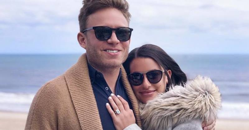 Lea Michele Pregnant Expecting First Baby With Zandy Reich