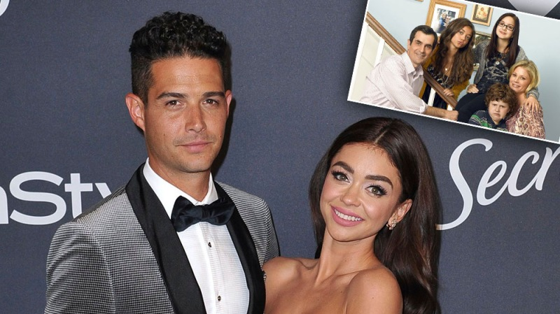 Sarah Hyland Reveals Fiancé Wells Adams Asked 'Modern Family' Cast For Permission Before Proposing