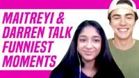 Maitreyi and Darren interview
