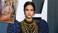 Camila Mendes Recreates Beyoncé's Iconic Pregnancy Photo Shoot
