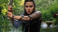 Get A First Look At Katherine Langford In The New Netflix Series 'Cursed'
