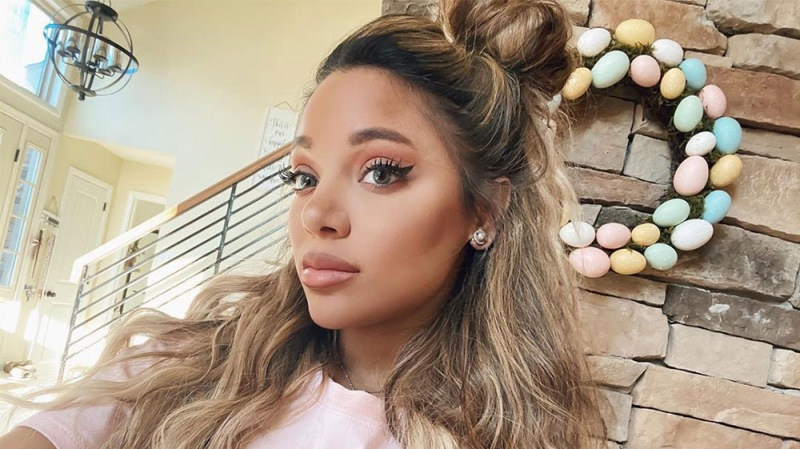 Gabi DeMartino Shows Off The Results Of Her Recent Eye Lift Surgery