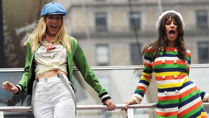 Glee Lea Michele Heather Morris