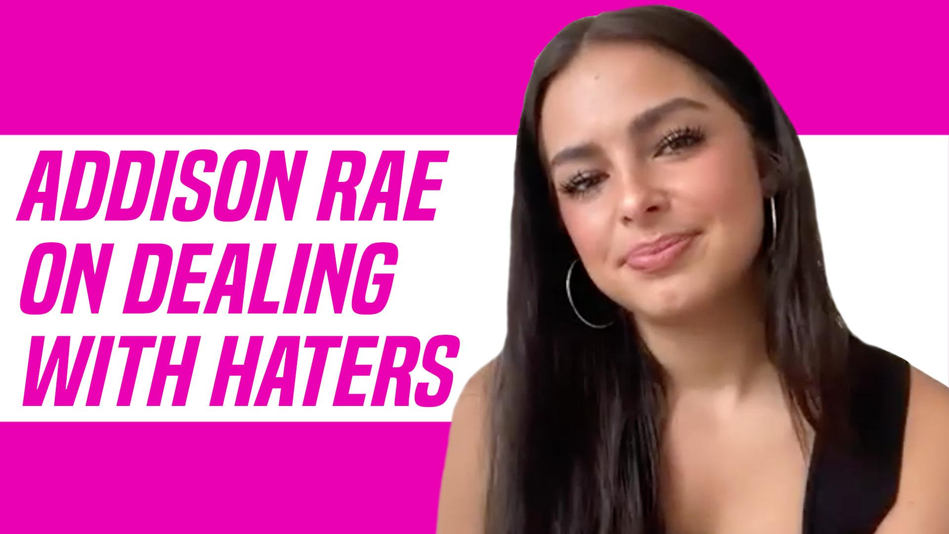 Addison Rae Talks Haters And Joining David Dobrik S Vlog Squad