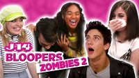 Disney Channel's 'ZOMBIES 2' Cast Bloopers With J-14