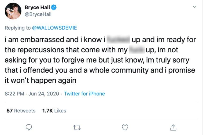 bryce hall tweets
