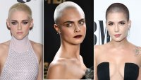 celebs who shaved their heads hair