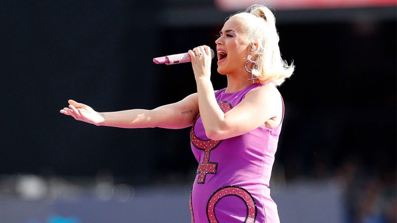 Katy Perry Teases New Song Dedicated To Unborn Daughter