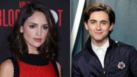 timothee chalamet girlfriend eiza gonzales