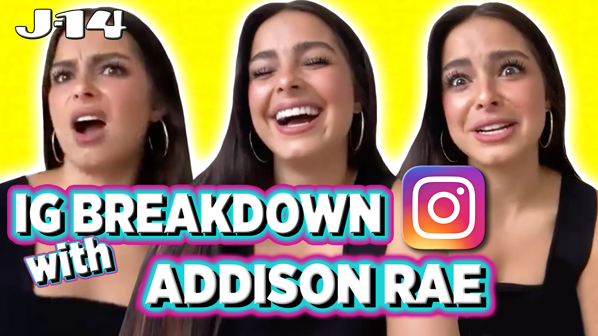 Addison Rae Breaks Down Instagram Posts Reacts To Her Old Pics