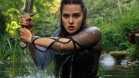 Katherine Langford Shows Off Her 'Warrior' Side In Trailer For Upcoming Netflix Series 'Cursed'