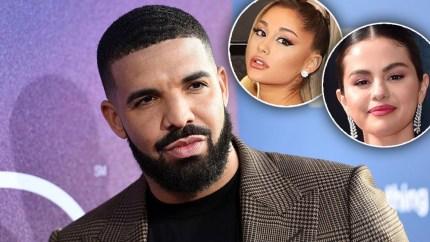 Drake Name Drops Selena Gomez, Ariana Grande And More In New Single 'POPSTAR'