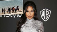 glee stars gather at lake naya rivera died