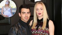 joe jonas sophie turner pregnant baby bump photos