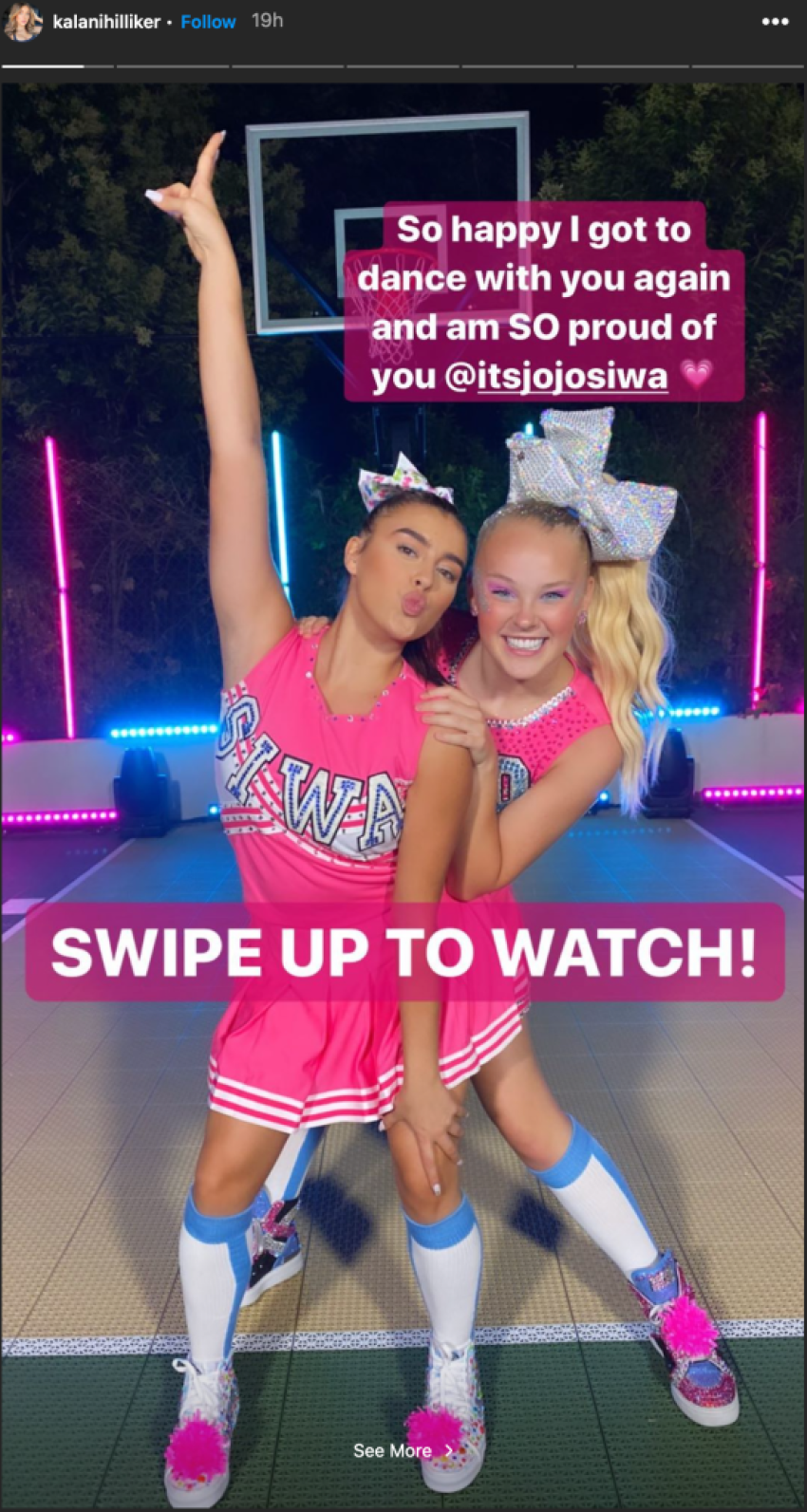 JoJo Siwa Reunites With Former 'Dance Moms' Cast Mate For Epic New Video