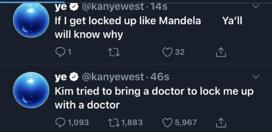 kanye west tweets