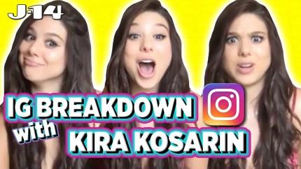 Kira Kosarin Instagram Breakdown