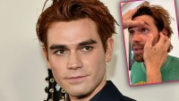 Fans Concerned After KJ Apa Reveals A Piece Of Legit Metal Is Stuck In His Eye