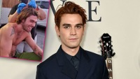 KJ Apa Gets Stitches After Scary Head Injury On 'Songbird' Set