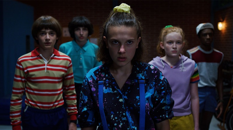 'Stranger Things' Cast Celebrates The 4 Year Anniversary Of The Show's Premiere With Epic Behind-The-Scenes Pics