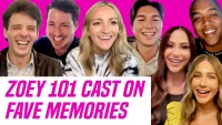 Zoey 101 Cast Reunites & Reveals Hilarious Set Secrets