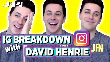 David Henrie IG Breakdown