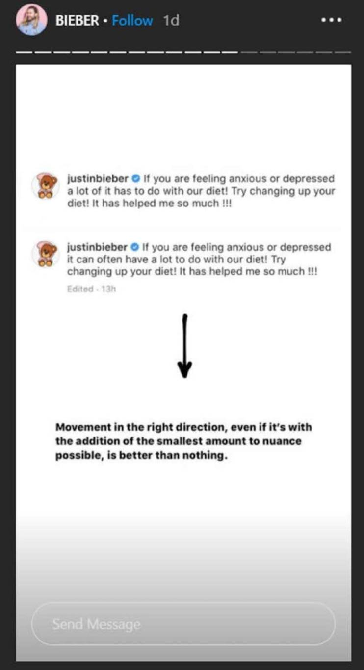 justin bieber calls out doctor