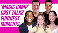 The Cast Of Disney+'s 'Magic Camp' Spills Hilarious Behind-The-Scenes Set Secrets
