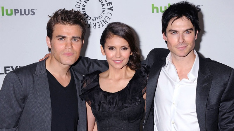 'The Vampire Diaries' Star Nina Dobrev Hilariously Choses Between Ex Ian Somerhalder And Paul Wesley