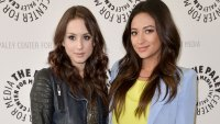 troian bellisario shay mitchell close over motherhood