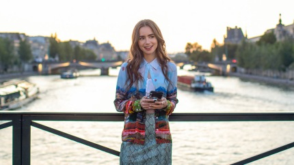 Lily Collins' New Netflix Series 'Emily In Paris' Is Giving Fans Major 'Devil Wears Prada' Vibes — See The First Look
