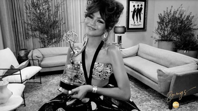 Zendaya Makes History With 2020 Emmy Awards Win — Celebrities React