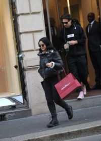 Camila Mendes out and about, Milan, Italy - 21 Feb 2020