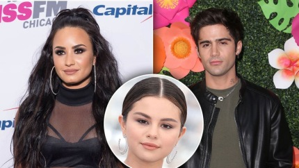 Demi Lovato Calls Max Ehrich's Alleged Tweets About Selena Gomez 'Fake'