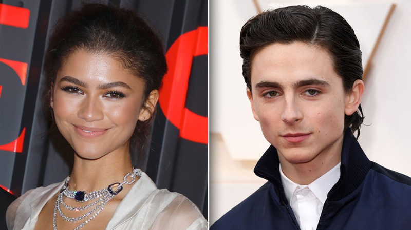 Get A First Look At Zendaya And Timotheé Chalamet In The Upcoming Movie 'Dune'
