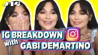 Exclusive: Gabi DeMartino Breaks Down Old Instagram Pics with Ariana Grande, Her Sister Niki and More